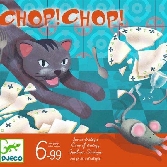Chop Chop, jeu de stratégie DJECO 8401