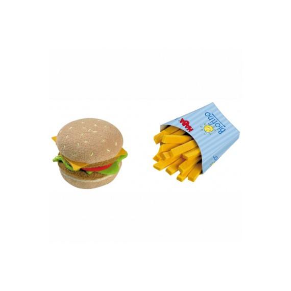 Hamburger avec frites, jouet HABA 1475