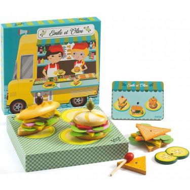 Atelier Sandwich DJECO 6620, Emile et Olive