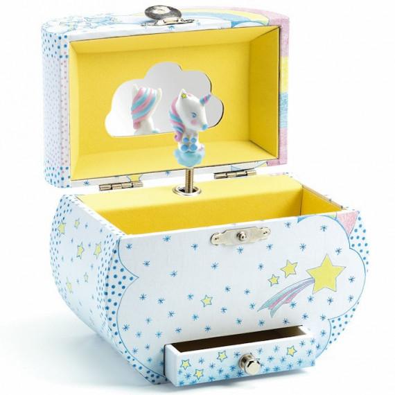 Boîte à musique Rêve des licornes DJECO 6605