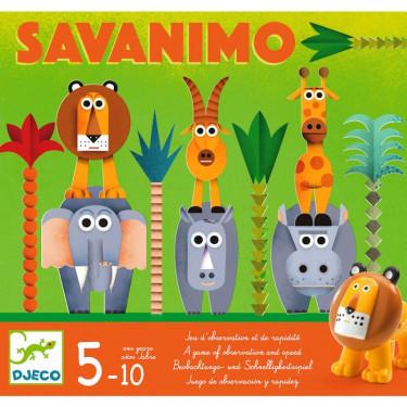 Savanimo, jeu d'observation et de rapidité DJECO 8403