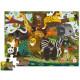 Puzzle 36 pcs 'Les amis de la jungle' CROCODILE CREEK