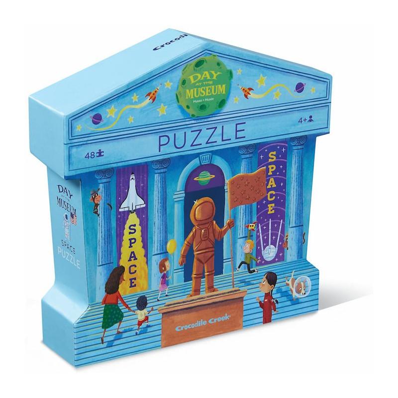Puzzle une journ e au mus e 39 espace 39 48 pcs crocodile - Www espacedestinataire com ...