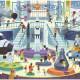 Puzzle Une journée au musée 'Espace' 48 pcs CROCODILE CREEK