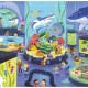 Puzzle Une journée au musée 'Aquarium' 72 pcs CROCODILE CREEK