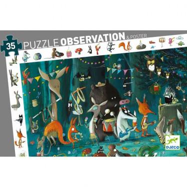 Puzzle observation 'L'orchestre' 35 pcs DJECO 7588