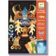 """Tableaux à métalliser """"Robots"""" DJECO 9515"""