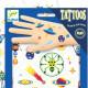 Tatouages phosphorescents 'Space oddity' DJECO 9590