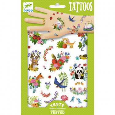 Tatouages 'Happy Spring' DJECO 9591