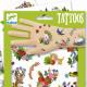 Tatouages 'Happy Spring' DJECO 9591