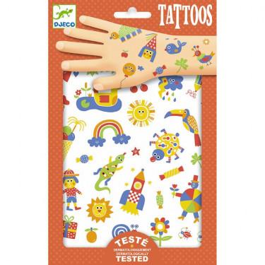 Tatouages 'So Cute' DJECO 9589