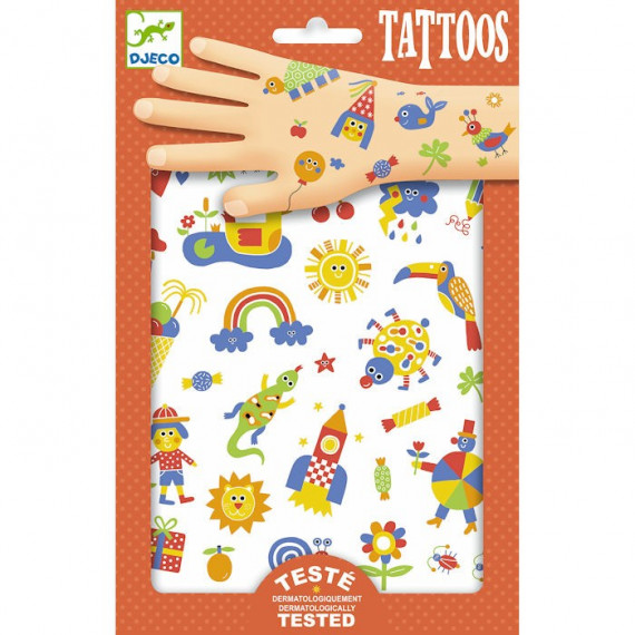 Tatouages 'So Cute' DJECO 9589