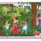 Alice au pays des merveilles, puzzle 50 pcs silhouette DJECO 7260