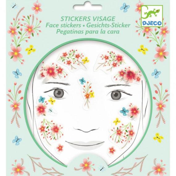 Stickers visage enfant 'Fée du printemps' DJECO 9212