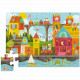 Puzzle éducatif 24 pcs 'La ville des formes' Crocodile Creek