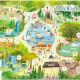 Puzzle éducatif 24 pcs '123 Zoo' Crocodile Creek