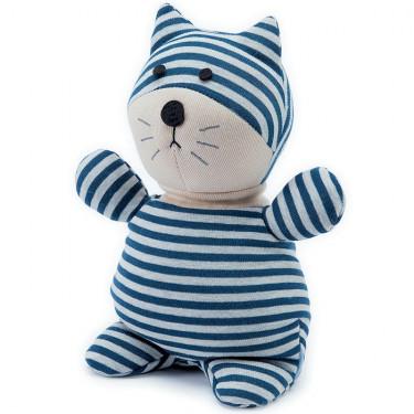 Peluche bouillotte Chat Warmies Socky Doll