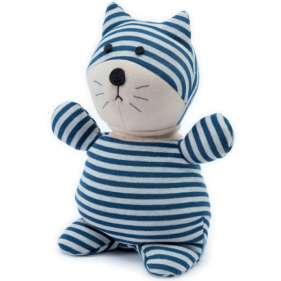 Peluche bouillotte Chat Warmies Socky Doll