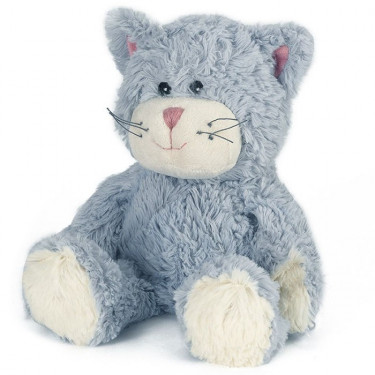 Peluche bouillotte Chaton Warmies Cozy