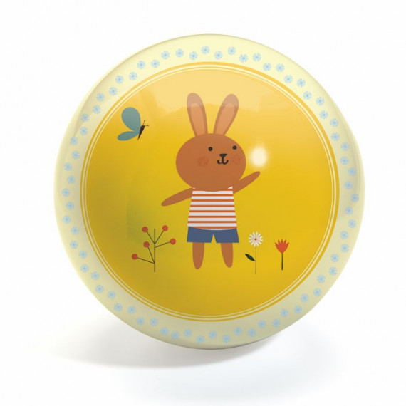 Ballon 12cm Petit lapin 'sweety ball' DJECO 102