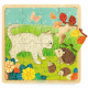 Puzzle en bois 'Puzzlo Jardin' 16 pcs DJECO 1813
