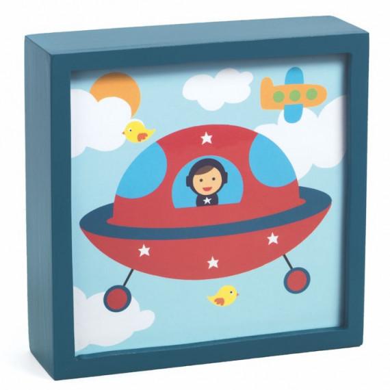 Veilleuse magique 'Polo space' Djeco 3486