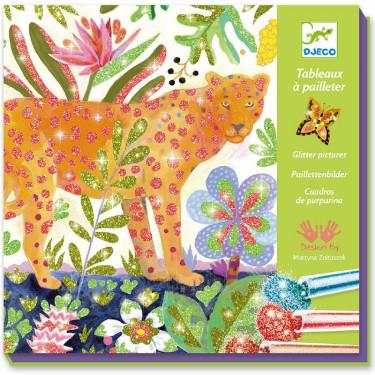 Tropico, tableaux à pailleter DJECO 9509