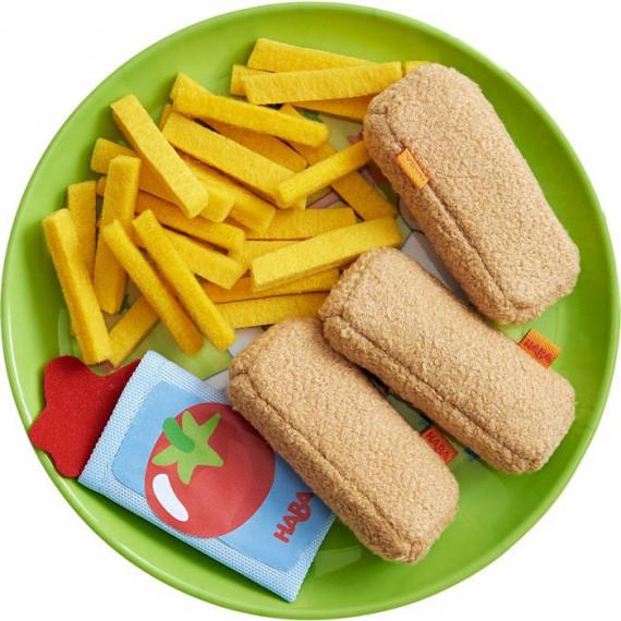 Bâtonnets de poisson avec frites HABA 303491