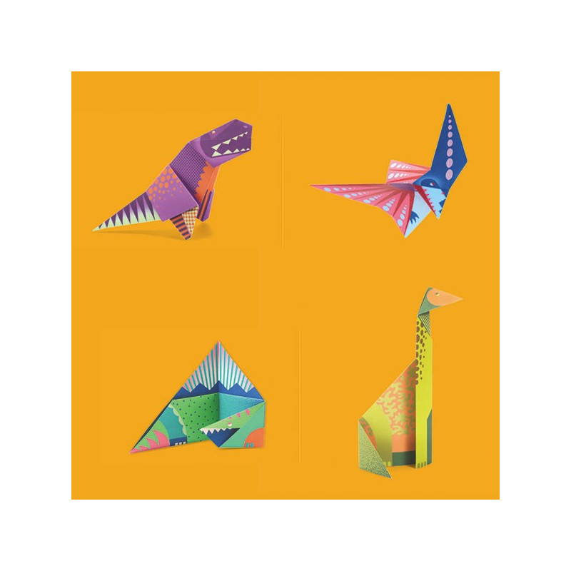 Origami Facile Dinosaures Djeco 8758