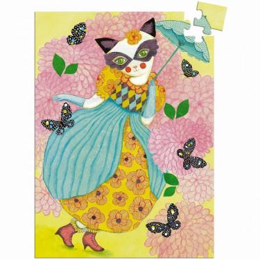 Mini puzzle Miss Tigri 60 pcs DJECO 7677