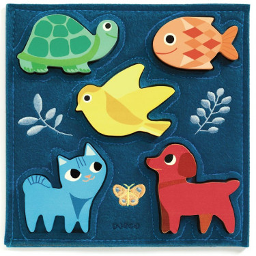 Puzzle Gataki, jeu d'encastrement DJECO 1057