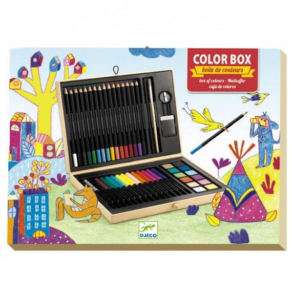 Boite de couleurs DJECO 8797