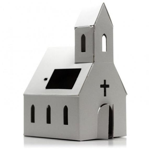 Casagami Eglise 'Village', veilleuse solaire