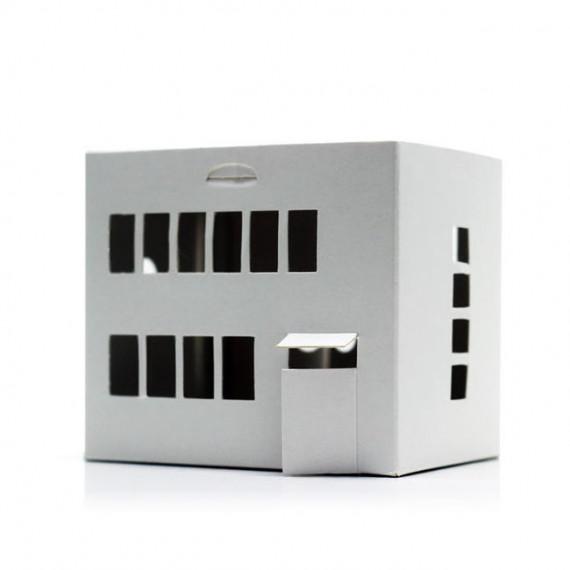 Casagami Maison Bauhaus 'Village', veilleuse solaire