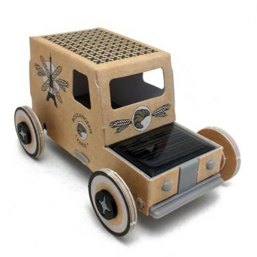 Autogami 'Ville de Paris', voiture solaire