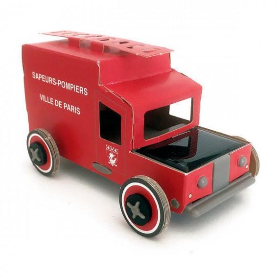 Autogami Camion de pompiers de Paris, voiture solaire