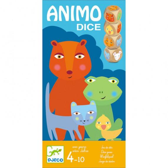 Animo Dice, jeu de dés DJECO 8475