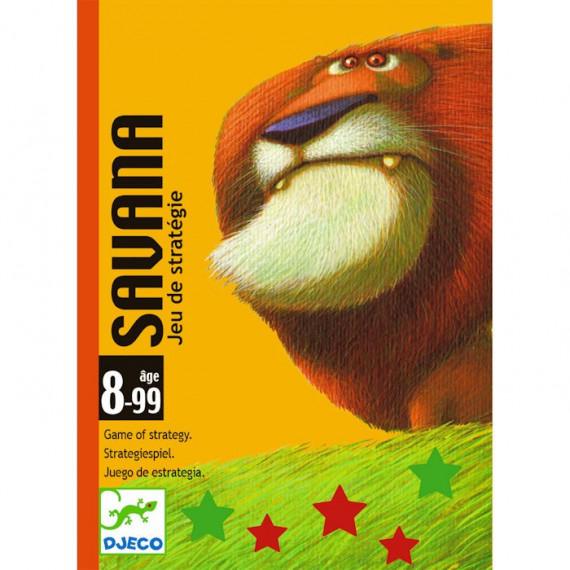 Savana, jeu de cartes DJECO 5110