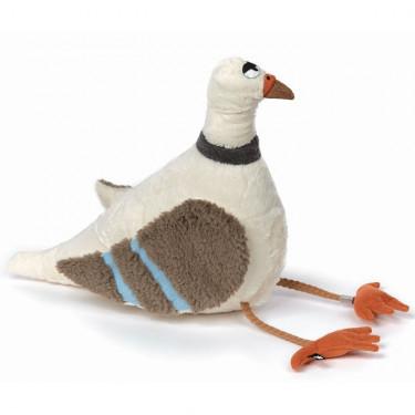 Auf der Lauer, pigeon blanc en peluche SIGIKID Beast 38948