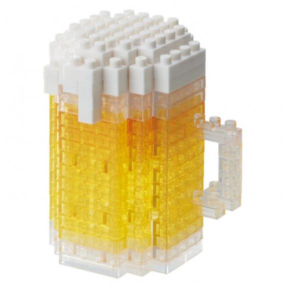 Chope de bière nanoblock