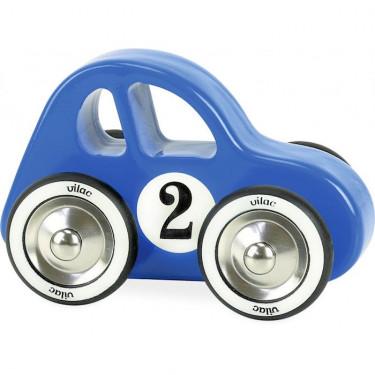 Swing car bleue, voiture VILAC 2299B