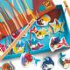 Jeu de pêche aimantée 'Sirènes' DJECO 1657