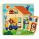 Chez Gaby, Puzzle 3 niveaux DJECO 1486