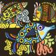 "Coloriage velours ""Jolis poissons"" DJECO 9098"