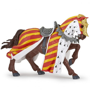 Cheval de tournoi, figurine PAPO 39945