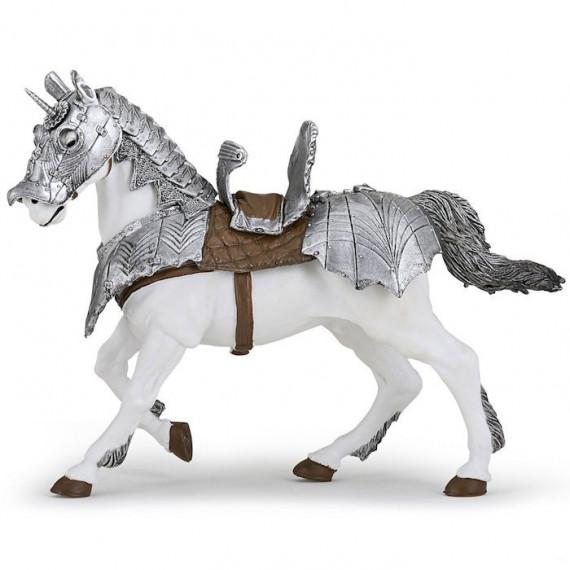 Cheval en armure, figurine PAPO 39799