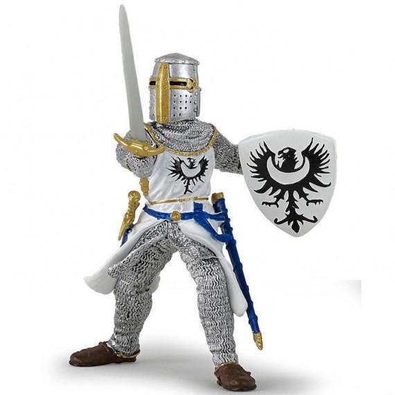 Chevalier blanc à l'épée, figurine PAPO 39946