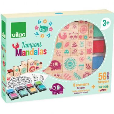 Coffret de tampons Mandalas VILAC 8221