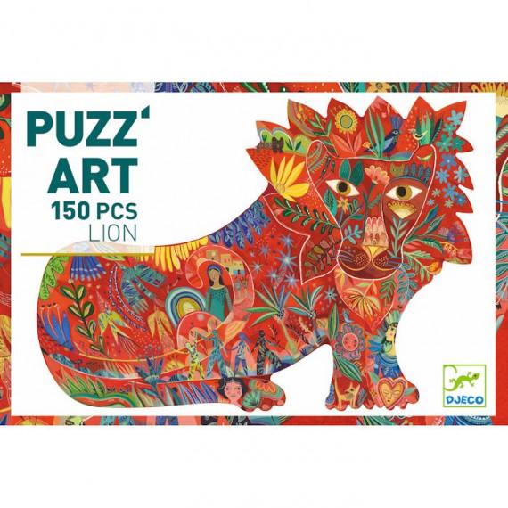 Puzzle Lion 150 pcs DJECO 7654