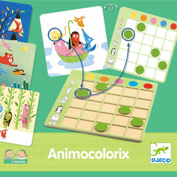 Eduludo Animocolorix DJECO 8359